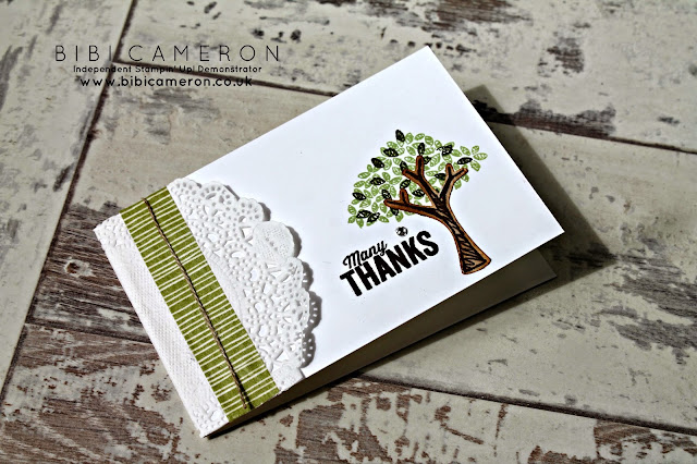 tree builder punch stampin up