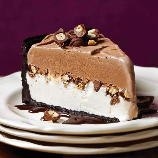 My favorite things chocolate peanut ice cream cake for Ice cream dessert recipes
