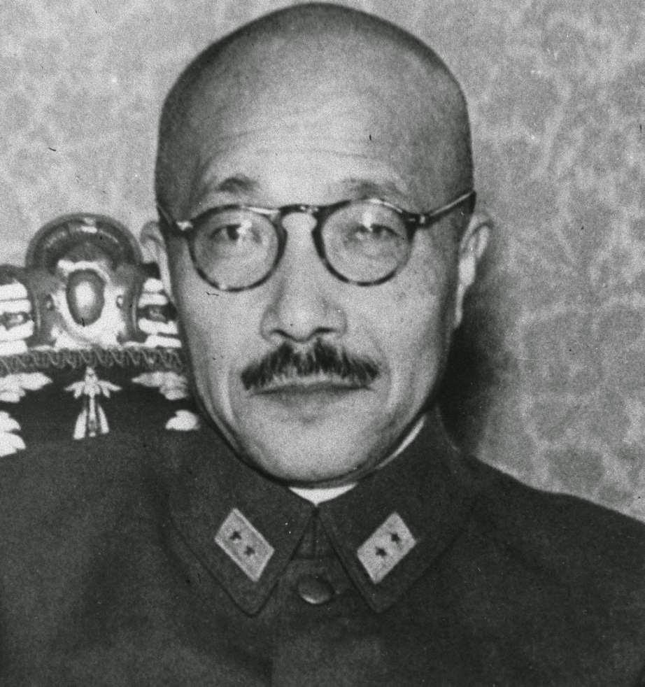 Tojo, ministro de la Guerra japones