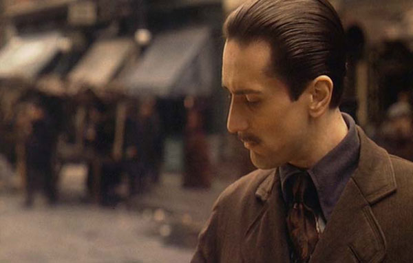 Robert De Niro in The Godfather, Part II