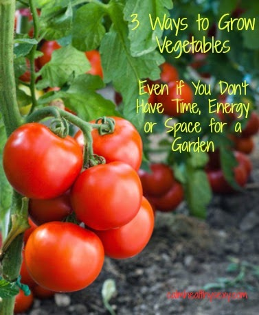 ways to grow vegetables