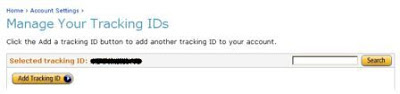 Tracking ID amazon