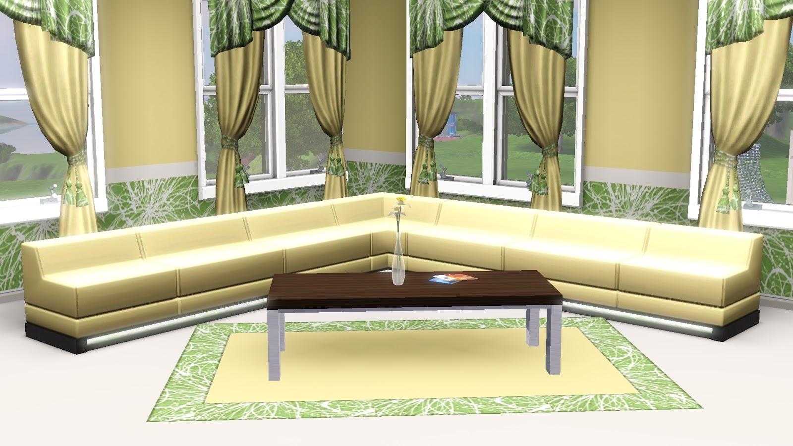19 Sims 3 Blog Klubbo Couchtisch + 1 Mesh