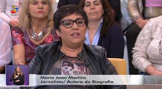 Programa Você na Tv com Manuel Luís Goucha e Cristina Ferreira entrevistam Maria João Martins