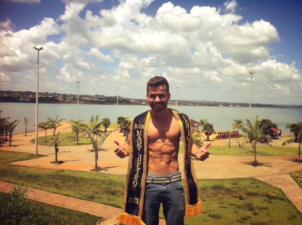 Lucas Oliveira no Lago Paranoá, em Brasilia (DF) Foto: Arquivo pessoal