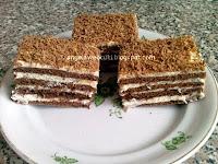 Sütemény recept - Kókuszkrémes szelet
