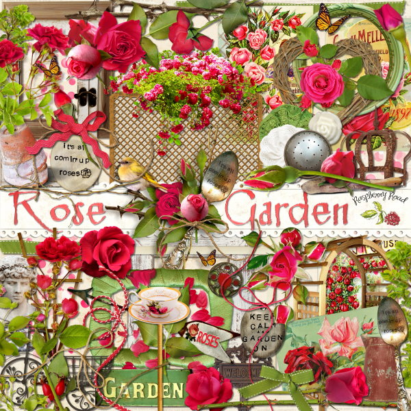 Rose Garden Collection & Freebie
