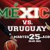 Habrá Transmisión Gratuita del México-Uruguay HOY 8:00 PM
