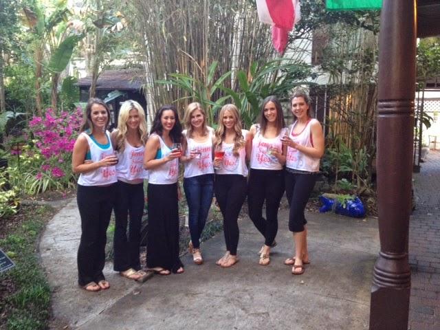 St Francis Inn Loves Bachelorettes! 2 Bachelorette+Party+2014 St. Francis Inn St. Augustine Bed and Breakfast