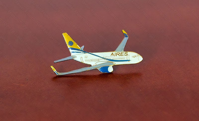 Broches o 'pin' de aviación - Boeing 737 - Aires