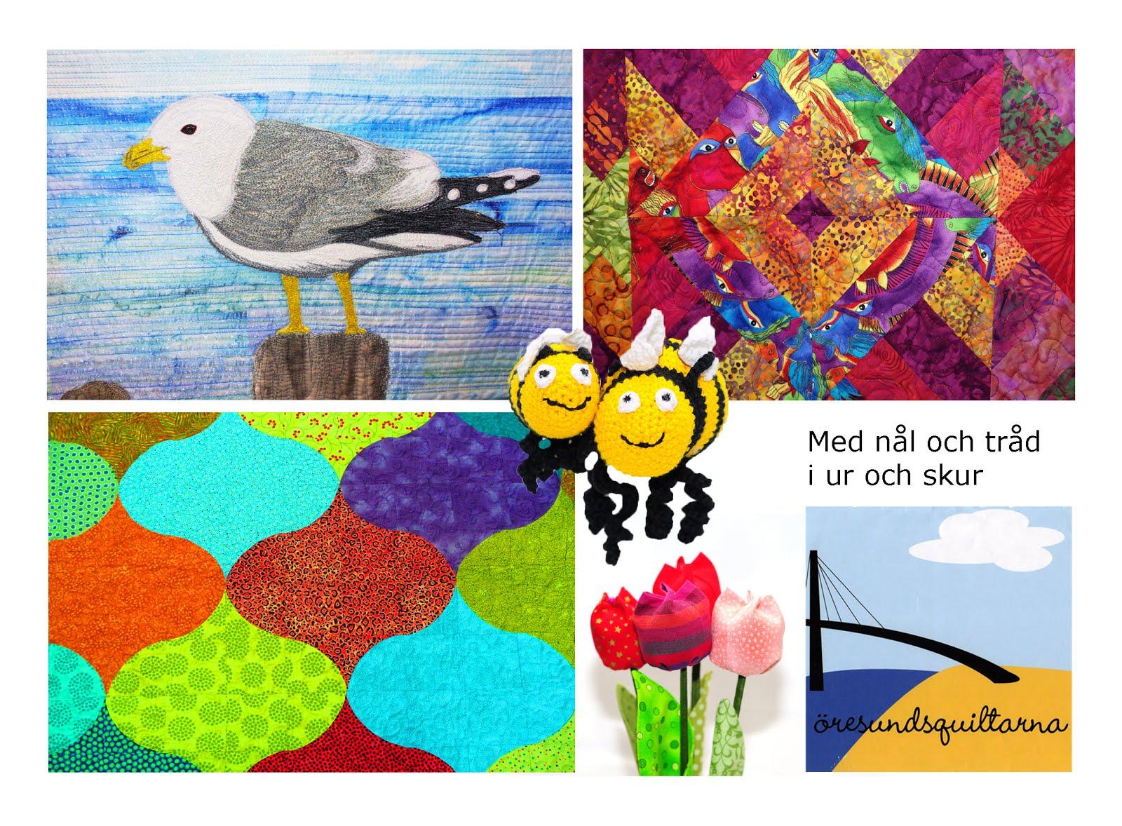 Textil konst - lapptäcken - butiker mm