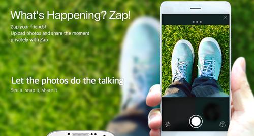 Comparte tus actividades diarias con tus amigos usando Zap