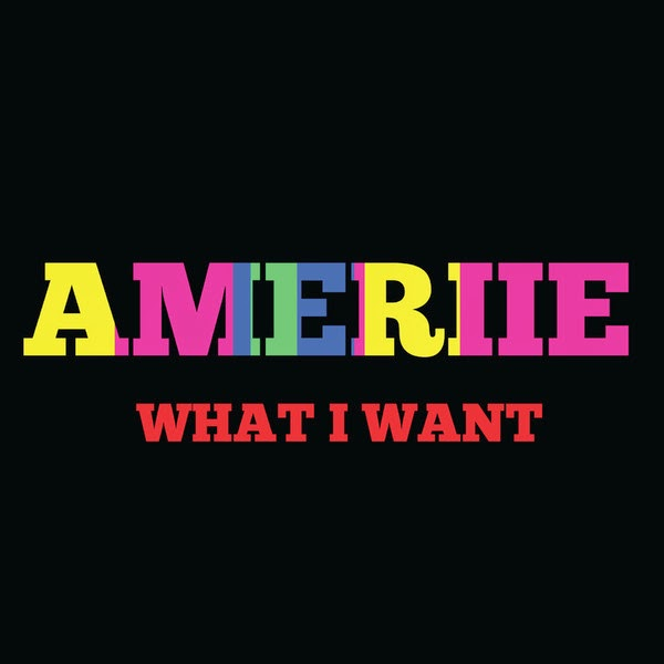 Ameriie - What I Want - Single Cover