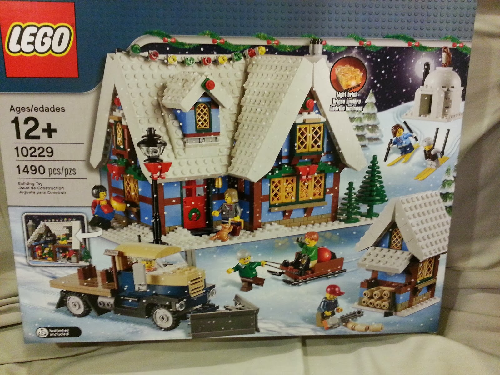 Playing With Bricks Lego 10229 Winter Village Cottage Review
