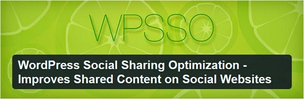 WPSSO social plugin for WordPress blogs