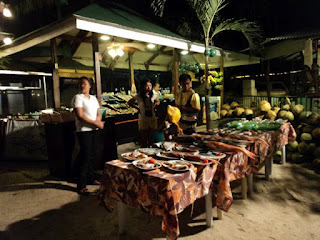 dinner at panglao island