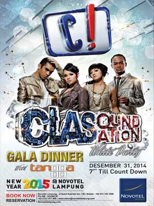 Gala Diner di Novotel Lampung, Lowongan Kerja Novotel Lampung