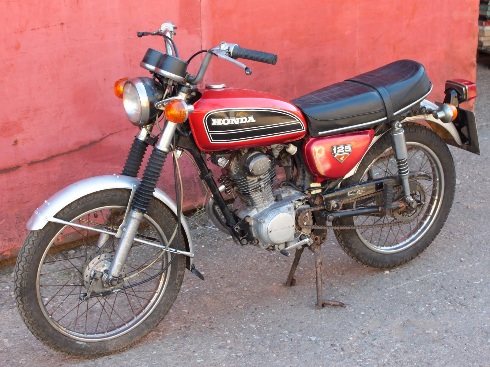 Honda Cb125s 1975 Owners Manual