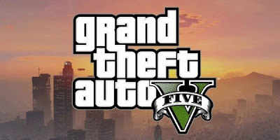 Grand Theft Auto GTA 5 V logo
