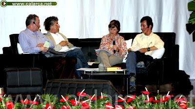 Luis Fernando Afanador, Julián Malatesta, Piedad Bonnet y John Jairo Guzmán