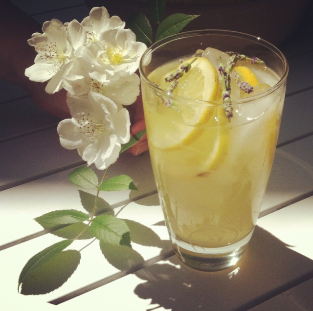 Kaitie's Honey Lavender Lemonade