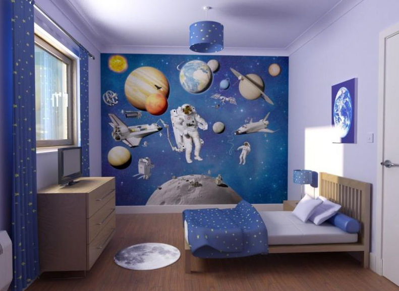 Boys Space Room Ideas for Bedroom