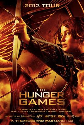 Cartel de 'Los juegos del hambre'