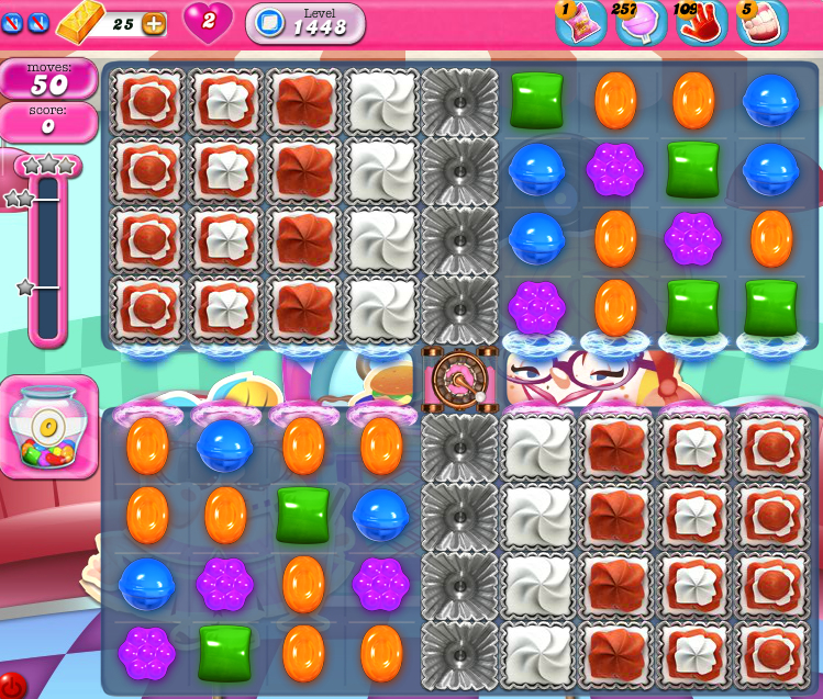 Candy Crush Saga 1448
