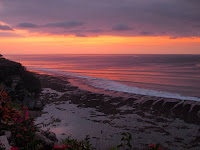 Sunset, Bingin beach, Bali