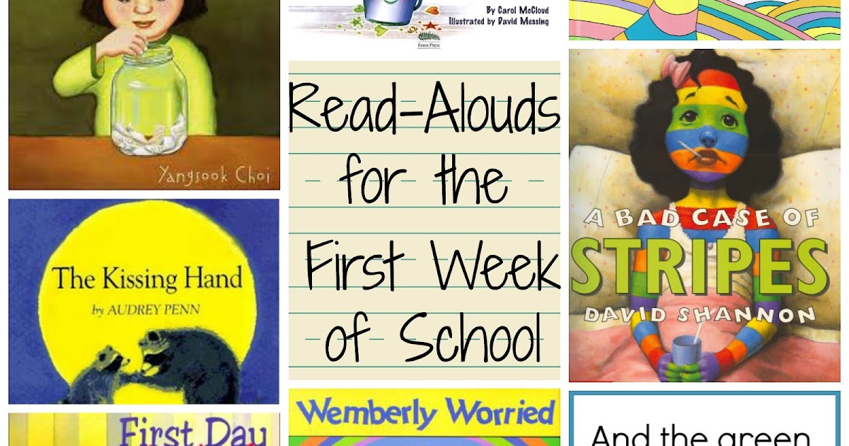 The Green Grass Grew All Around: Awesome books for the first week of school