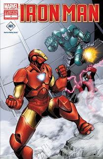 Front cover of AWS Presents Iron Man Special #1: Forging The Future
