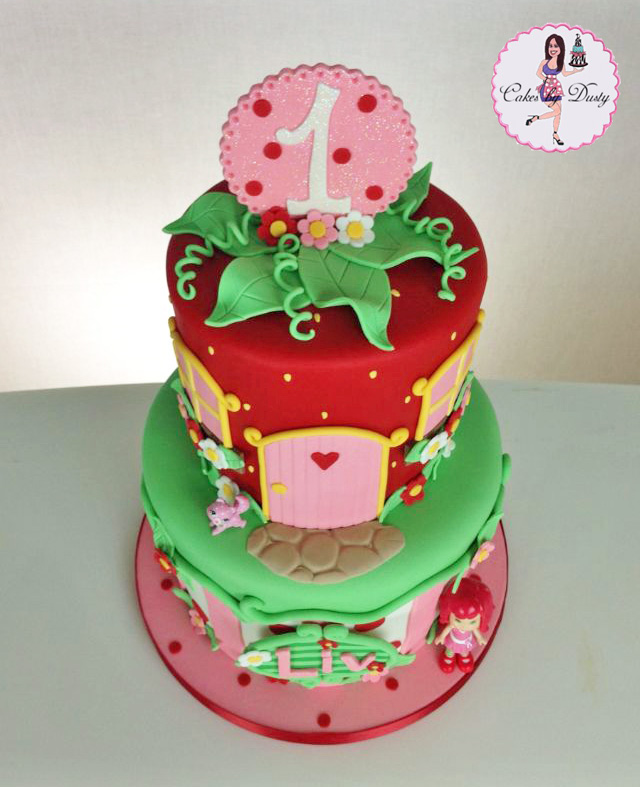 Cakes by Dusty: Liv s Strawberry Shortcake Cake