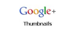 Gadget Blogger - Les vignettes d'un Album de Google+