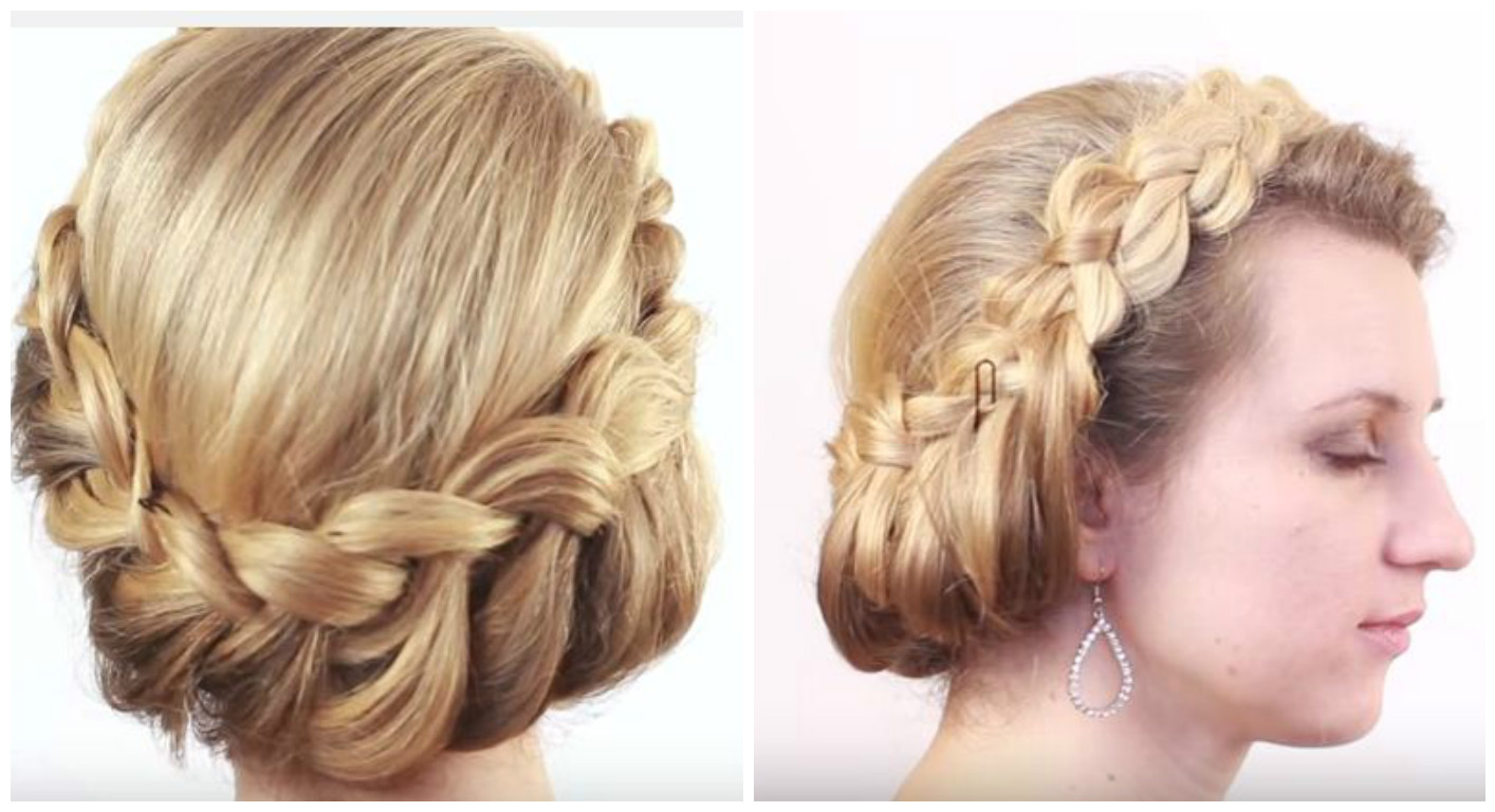 2 peinados bonitos con trenzas para cabello largo - Peinados y trenzas ...