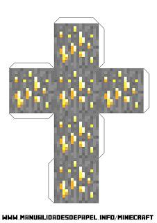 Crear bloque minecraft de oro