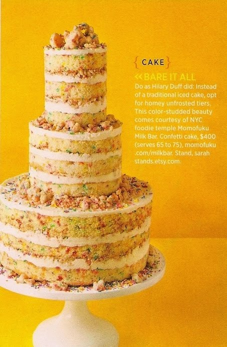 A Party to Perfection: Naked Wedding Cakes