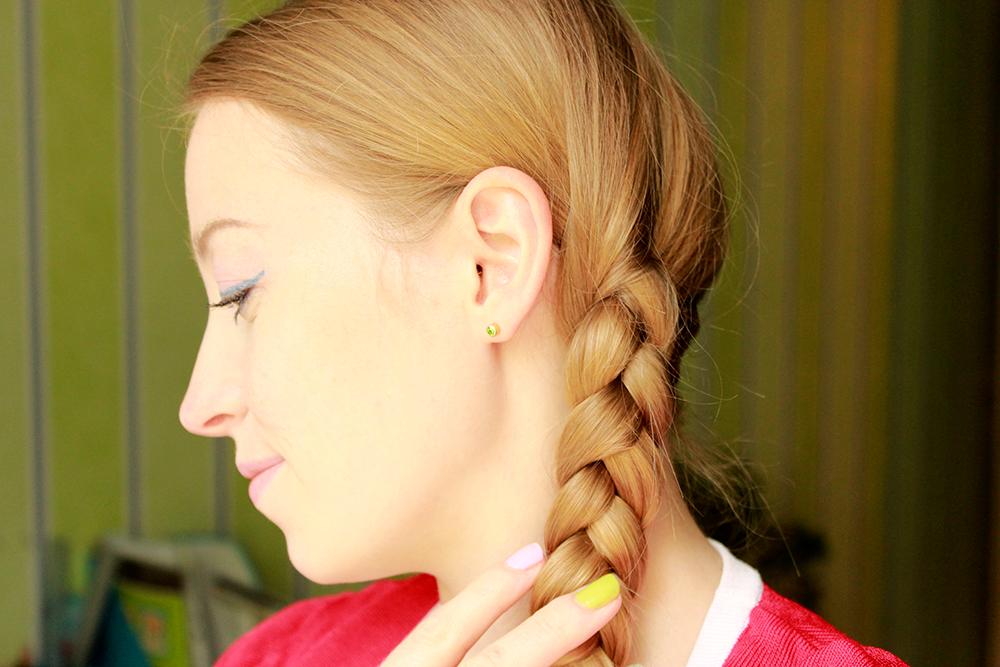 коса волосы прическа
