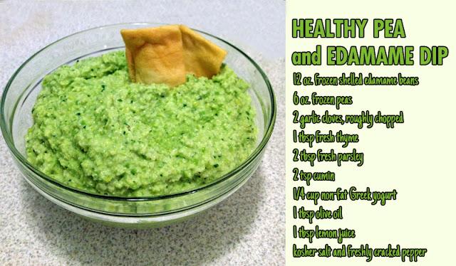 Healthy Pea & Edamame Dip | Hard Parade
