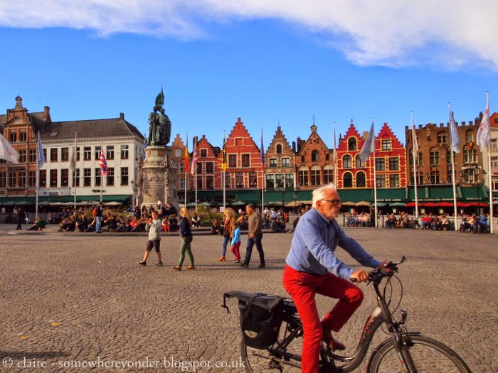 Bruges, Belgium in Autumn - by cycle