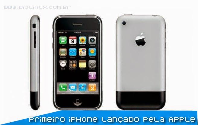 O primeiro iPhone lançado pela Apple