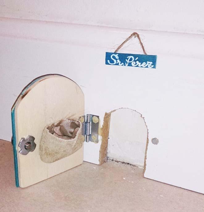 So ar y crear todo es empezar diy puerta del ratoncito p rez - Puerta ratoncito perez el corte ingles ...