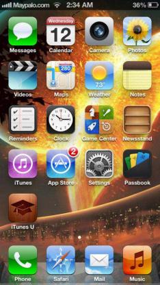Menampilkan Efek 3 Dimensi (3 D) iOS 7 Di iOS 6