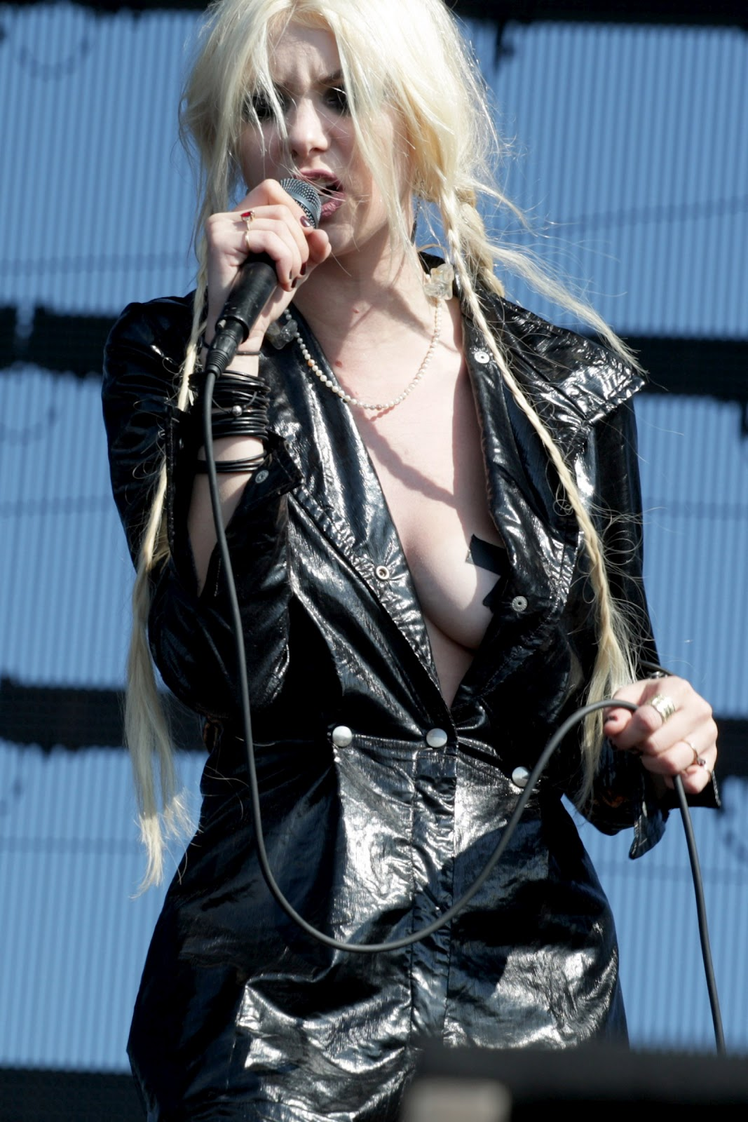 Taylor momsen flashes her breasts