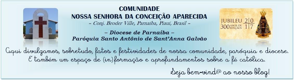 Comunidade N. Sra. Aparecida - Broder Ville - Parnaíba-PI