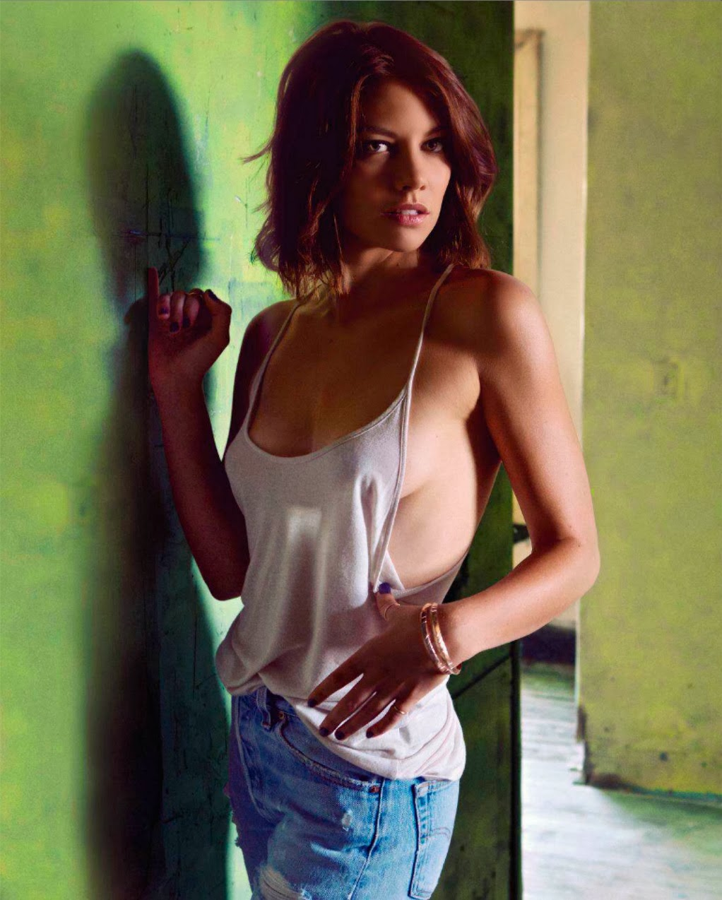 Apologise, but, Lauren cohan naked photo shoot