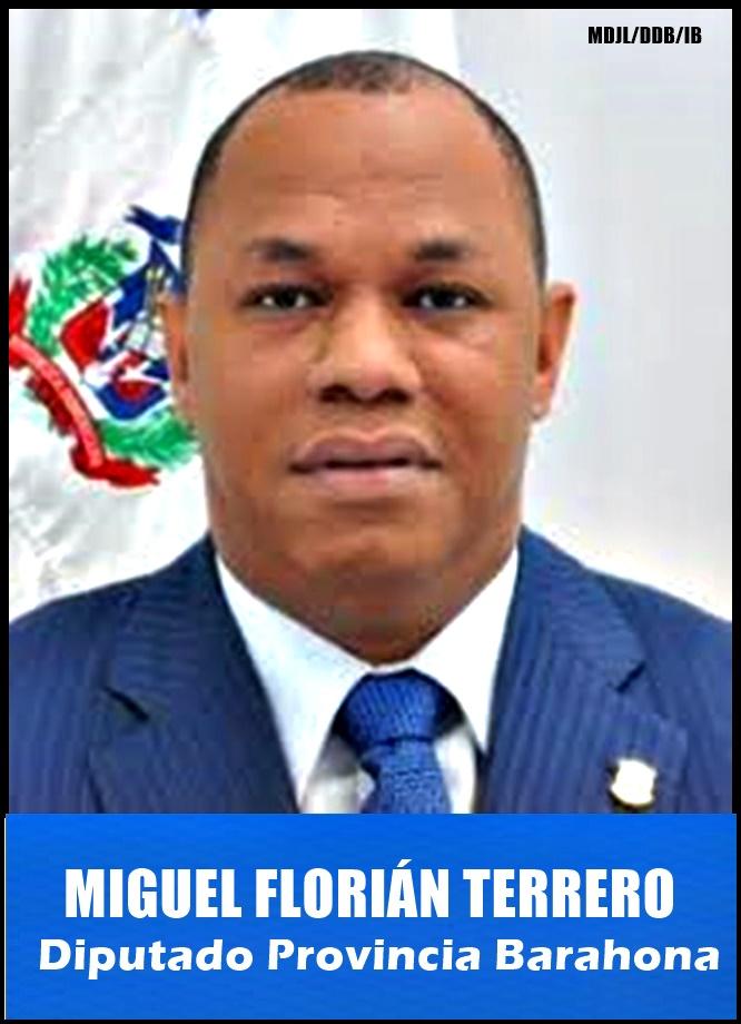 MANUEL MIGUEL FLORIÁN TERRERO/DIPUTADO PROVINCIA BARAHONA