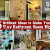 15 Brilliant Ideas to Make Your Tiny Bathroom Seem Bigger