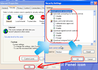 enable ActiveX control in outlook