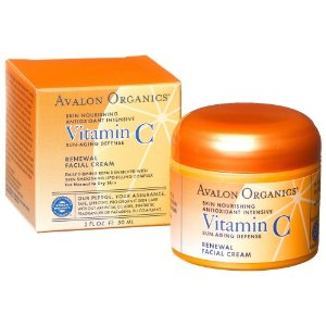 Avalon Organics Vitamin C Renewal Creme , 2-Ounce Bottle (Pack of 2)