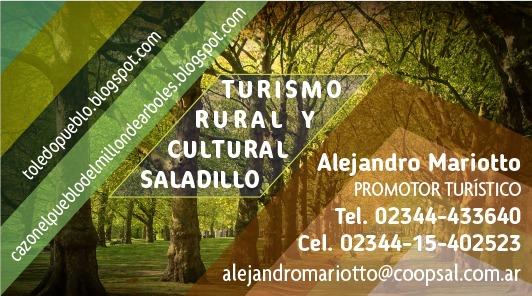 Turismo Rural y Cultural Saladillo